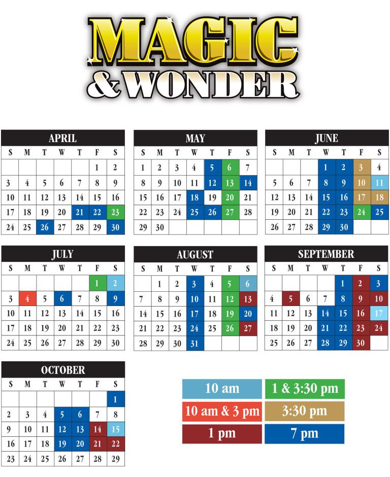 Magic-Wonder-Schedule
